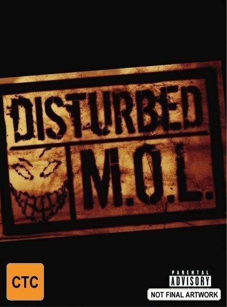 Disturbed - M.O.L (DVD, 2002)  LIKE NEW .. Region 3, 4 & 6 NTSC