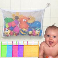 Baby Bath Bathtub Toy Mesh Storage Bag Bathroom Stuff Tidy Net Organizer Holder