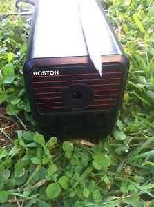 Usa Made Boston Model 18 Electric Pencil Sharpener Black