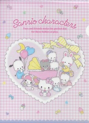 Sanrio Sanrio Characters Portfolio Folder Set of 3 Sizes