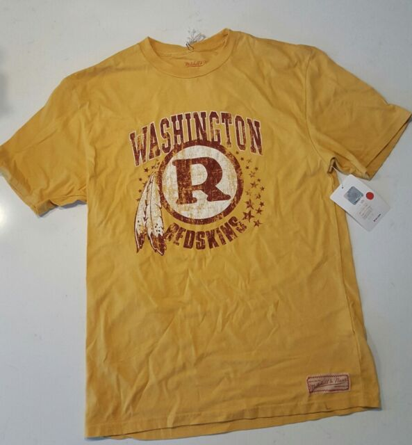 Mitchell & Ness NFL Washington Redskins throwback t-shirt men's NEW small NWT