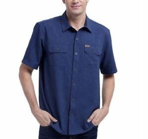 SALE-Orvis-Men-039-s-Short-Sleeve-Woven-Tech-Shirt-SIZE-amp-COLOR-VARIETY-Ships-Free