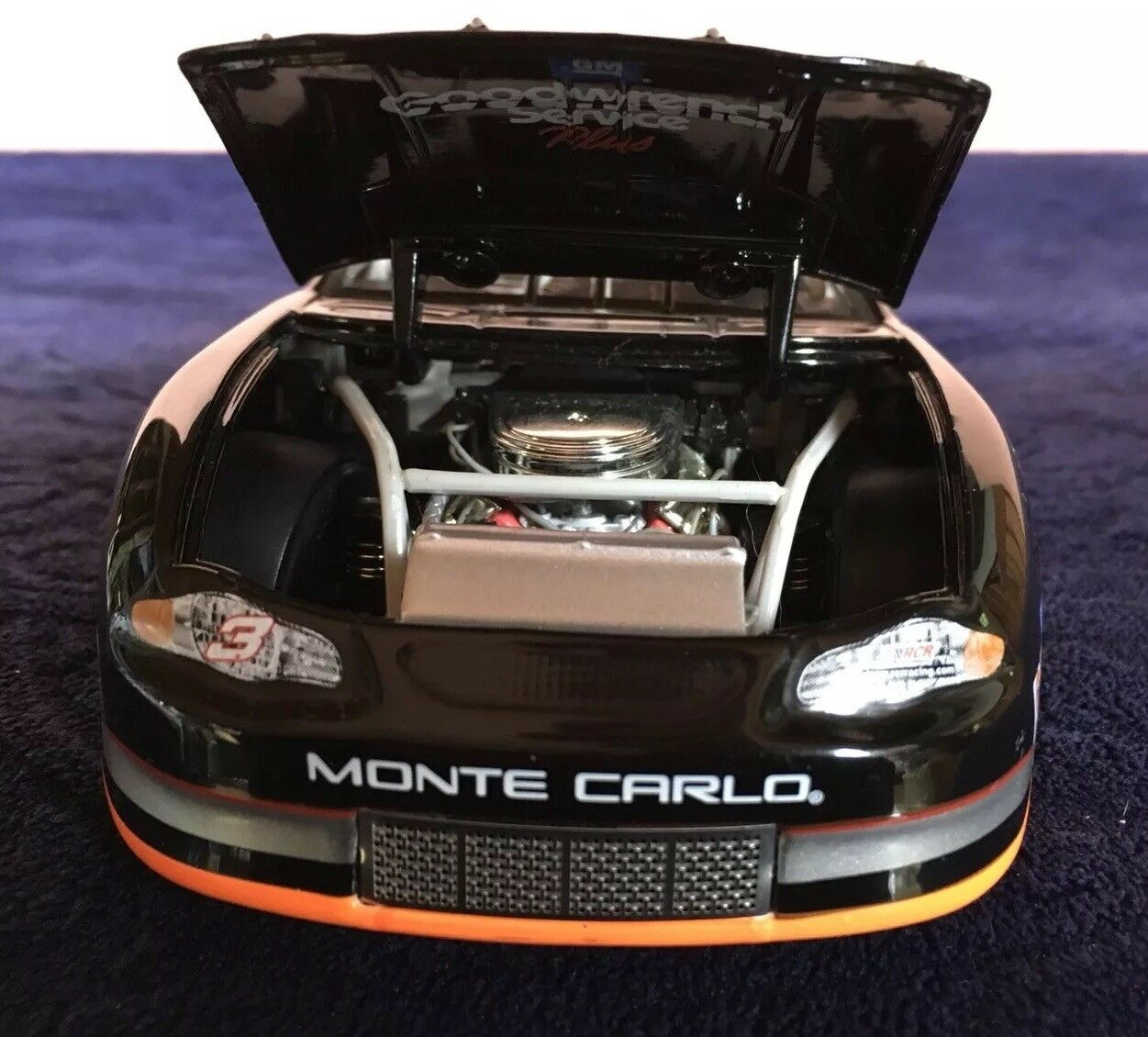 Dale Earnhardt  3 GM Goodwrench Goodwrench Goodwrench Service Plus Richmond Race 2000 Monte Carlo 4057cd
