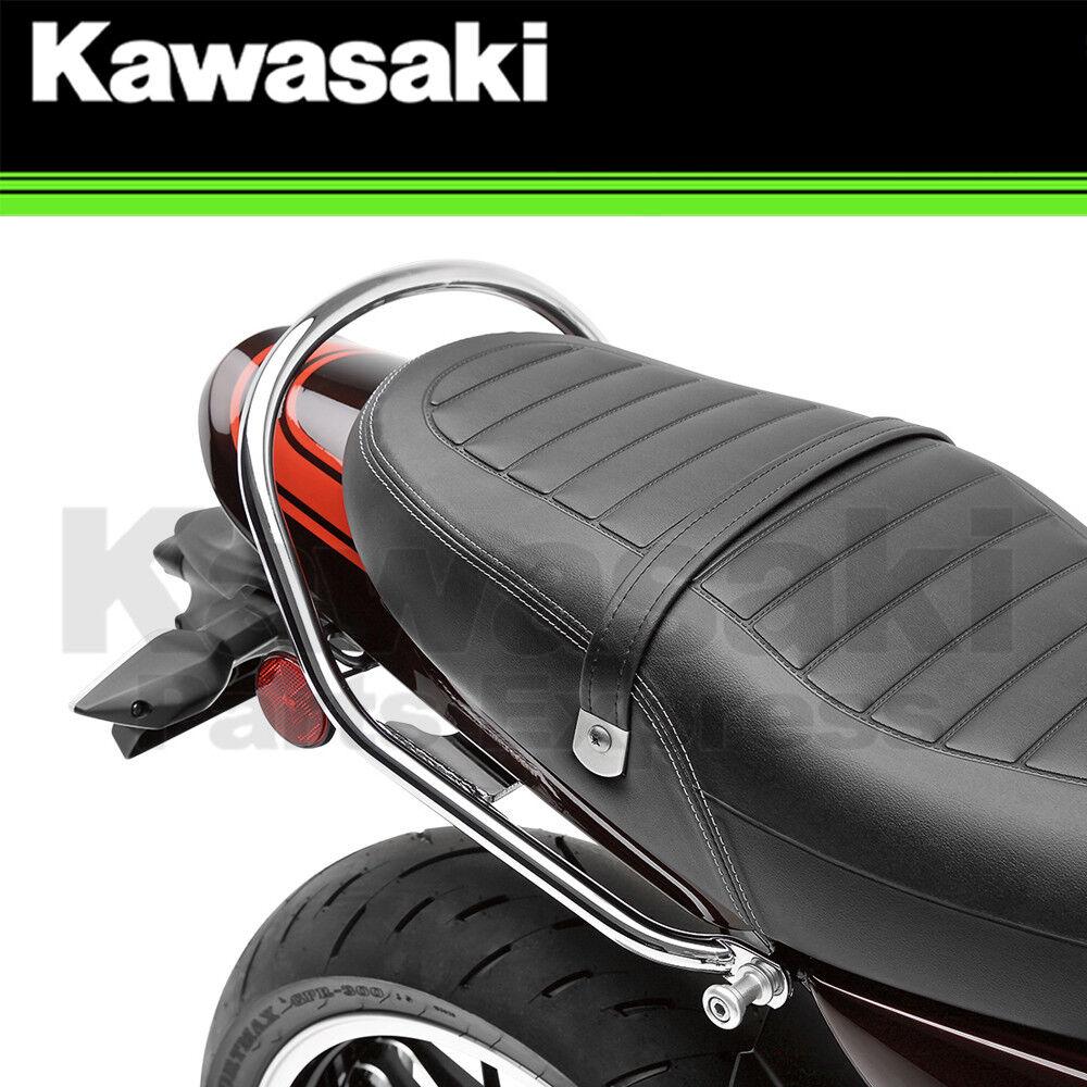 Genuine Kawasaki Accessories 18-19 Kawasaki ZR900RSC Passenger Grab Handle Chrome