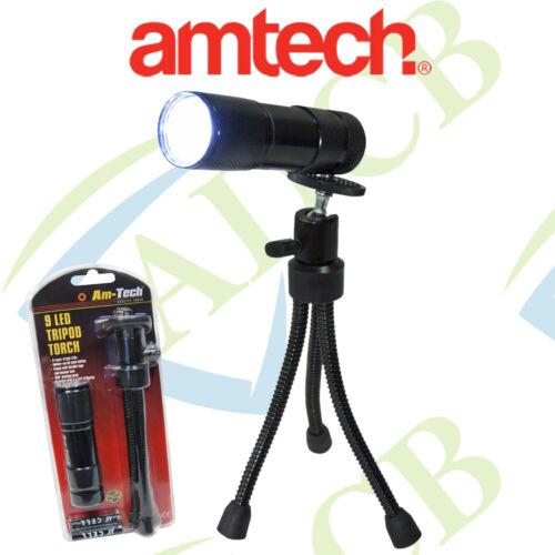 Am-Tech 9 DEL trépied mini S1630