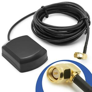GPS-SMA-Antenne-Navi-Kabel-3m-Auto-Radio-Navigation-Adapter-Magnet-KFZ-PKW