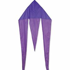 Premier Kites 45 In. Flo-Tail Delta - Purple Includes 30 lb. Test Line & Winder