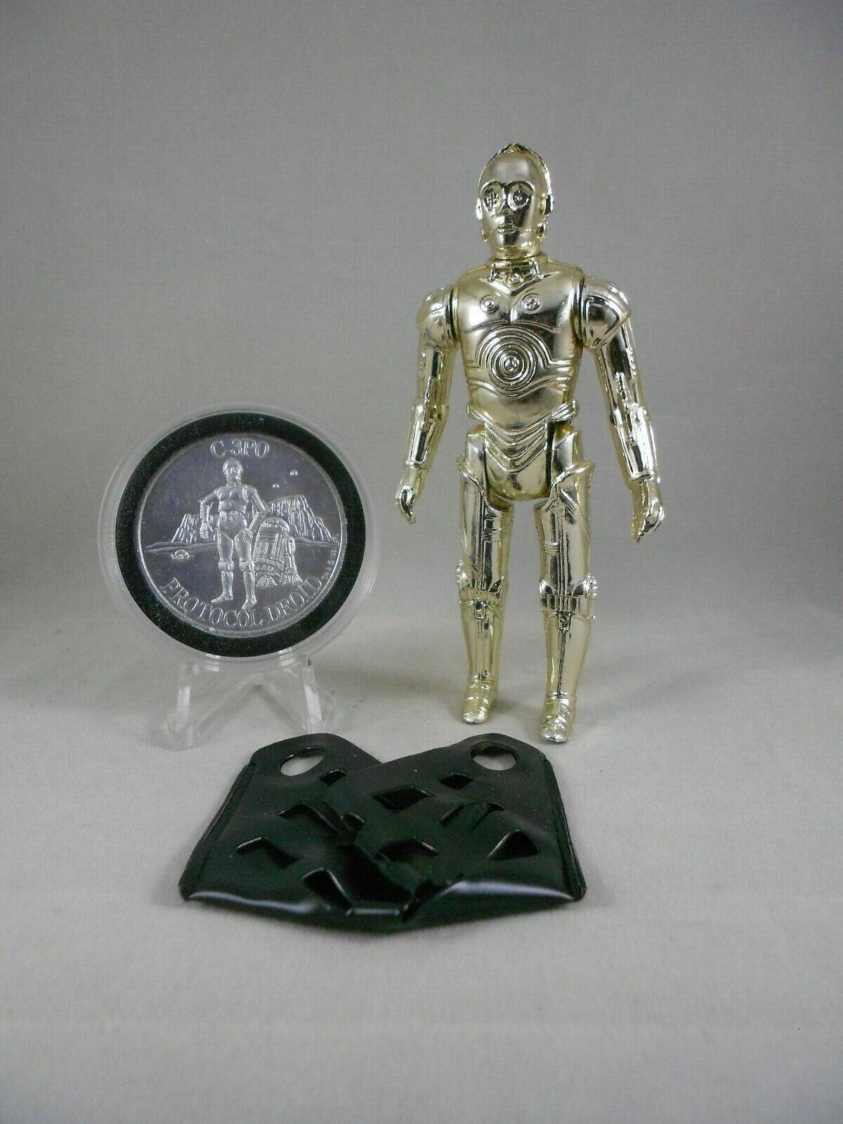 Vintage Star Wars 1982 - C-3PO Remove Limbs - N Mint Complete w 1985 POTF Coin