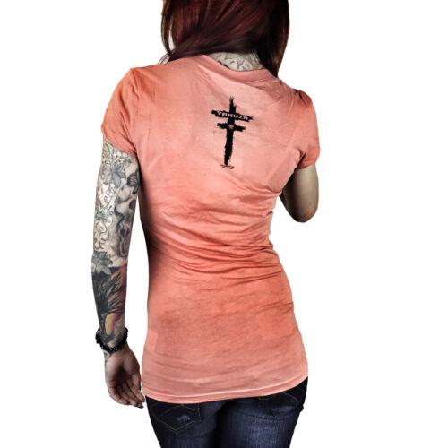 "arancione GSB 7105 /""JOKER/"" Camellia ragazzina Yakuza-Donna T-shirt"