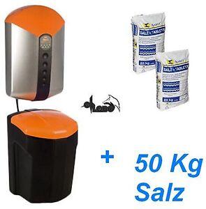 Wasser Aufbereitung Judo Enthärtungsanlage i-soft Entkalkung + 50 kg Salz