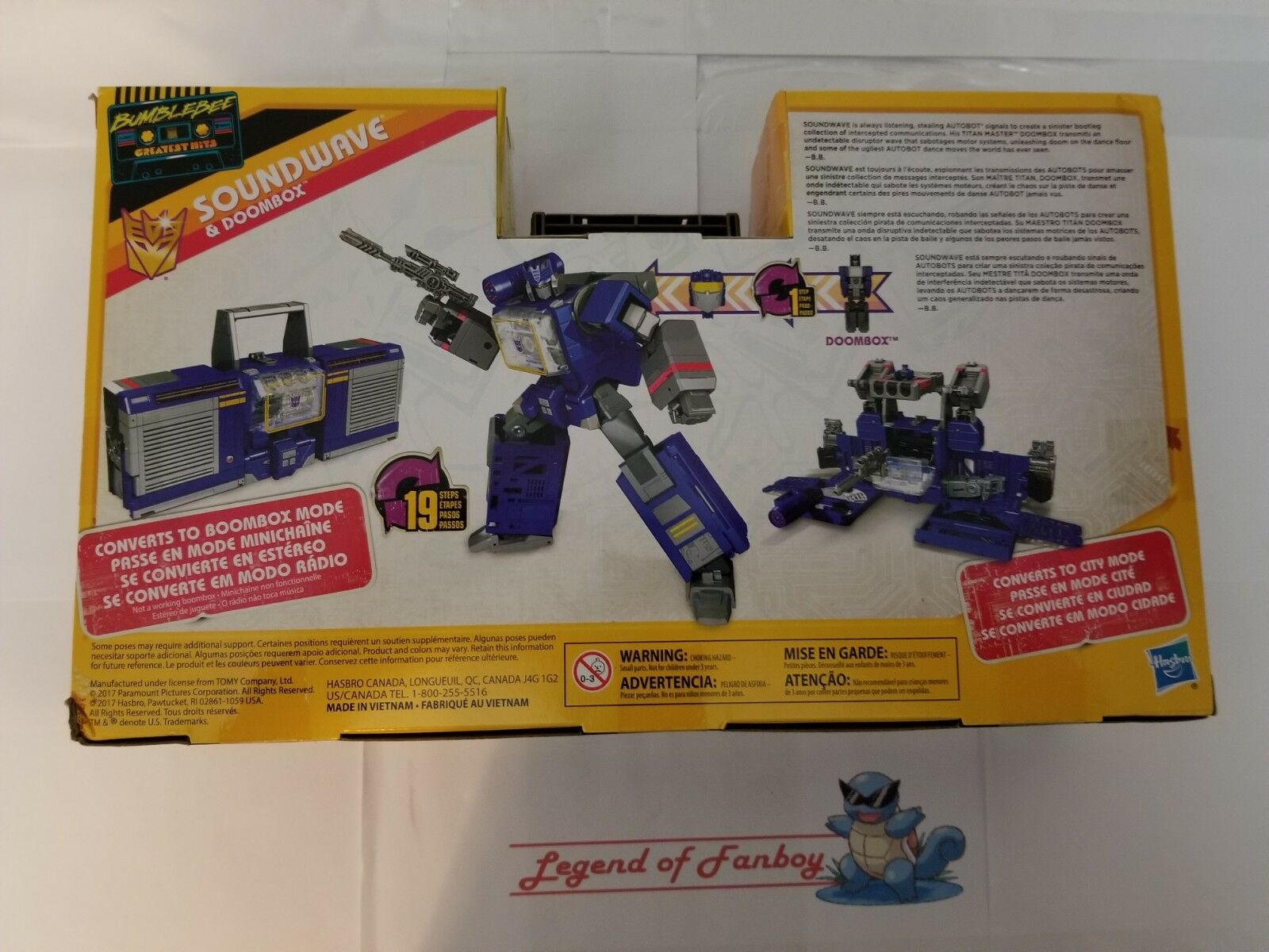 New     Transformers - Soundwave & Doombox - BumbleBee Greatest Hits 58cfa7