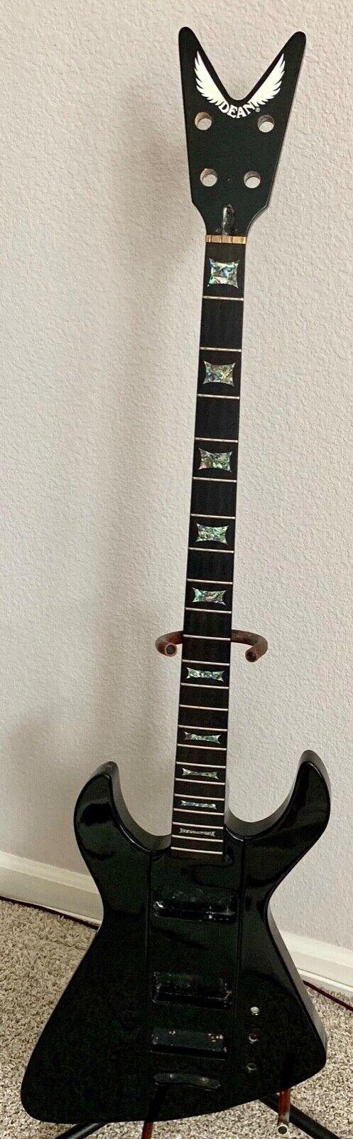 2008 Dean Demonator Bass Guitar Original Solid Body Neck Project