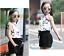 2pcs toddler baby girls fashion Korean suit Sleeveless blouse+shorts clothes set