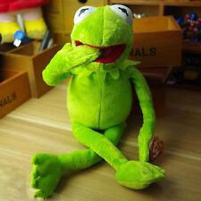 "Kermit Sesame Street Muppets Kermit the Frog Toy plush 16"""