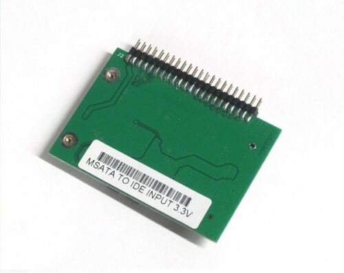 mSATA SSD to 44 Pin IDE Adapter as HDD for IBM Laptop 3.3 Volt