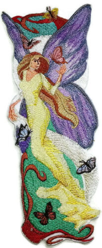Wizards and Fairy   Embroidered Iron On Patch