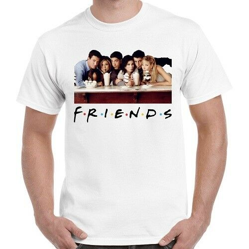 Friends Characters TV Show Cool Gift Funny Vintage Retro T Shirt 525