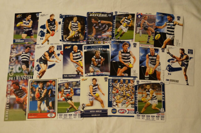 GEELONG CATS- Collection of 20 Cards inc. SELWOOD,BROWNLESS,BARTEL etc