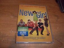 New Girl: The Complete First Season 1 (DVD, 2012, 3-Disc Set) Comedy TV Show NEW