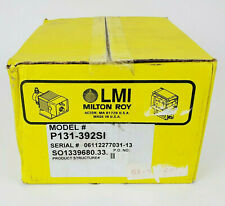 Lmi Milton Roy P131 392si Chemical Metering Pump New Factory Sealed