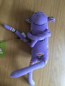 Paul Frank Violet Sock Monkey Brand new with tags  </span>