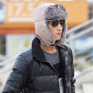 Fashion-Unisex-Men-Winter-Trapper-Aviator-Trooper-Earflap-Warm-Ski-Hat-With-Mask