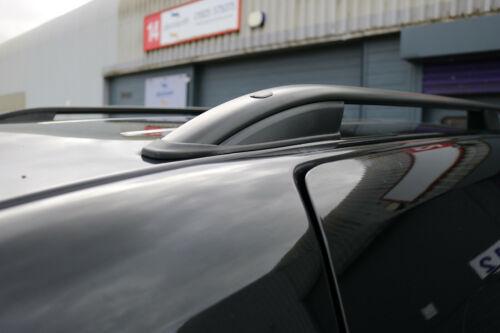 VW Caddy Maxi 2004 Dachträger Schwarz Aluminium Dachreling