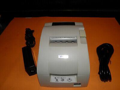 NO POWER ADAPTER EPSON TM-U220D M188D Dot Matrix Receipt Printer