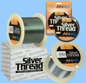 Silver-Thread-AN40-Fishing-Line-10-to-30-LB-Test-Select-Color-Size-amp-Qty