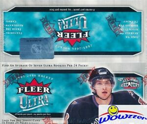 2005-06-Fleer-Ultra-Hockey-HUGE-24ct-Retail-Box-Sidney-Crosby-Ovechkin-RC-Year
