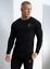 Gym-King-Mens-Long-Sleeve-Crew-Neck-Basis-Slim-Fitted-Designer-T-Shirt-Tee-Top thumbnail 25