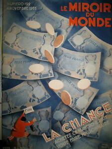 CHANCE-JEUX-DE-HASARD-SUPERSTITION-AMULETTES-LOTERIES-LE-MIROIR-DU-MONDE-1933