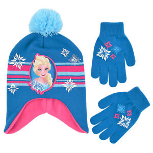 b6362c559941e Image is loading Disney-Frozen-Elsa-Hat-and-Gloves-Cold-Weather-