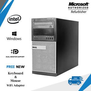 Fast-Dell-Opti-PC-7020-Tower-Computer-Core-i5-4570-3-2-GHz-16GB-WiFi-HDMI-DVDRW