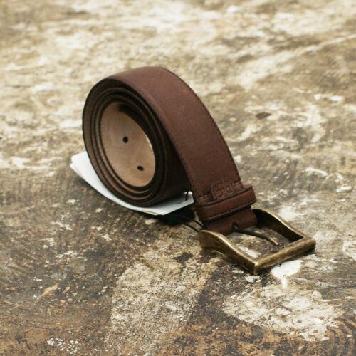 £ 210 bnwt Nouveau D/&G Dolce /& Gabbana marron ceinture avec boucle dorée véritable rrp