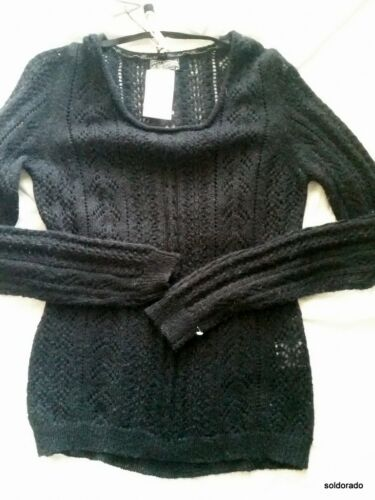 Mod l neu Dreimaster Schwarz Gr mädels Damen Pullover 1YE44Wq7F