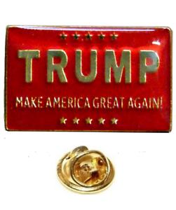 (Lote de 24) Donald Trump Make America Gran Again Rojo Gorro Pin de Solapa