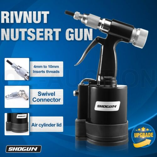 Nutsert Rivnut Air Hydraulic Tool Rivet Nut Riveter Gun Garage Tools