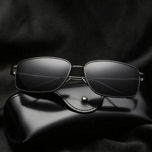 805a60fc22 La imagen se está cargando Le-Hombre-Moderno-Gafas-de-Sol-Polarizadas- Rectangular-