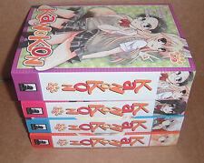Kanokon Vol.1-2,3-4,5-6,7-9 Manga Graphic Novels Set Complete Set English