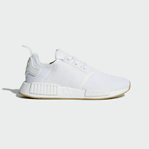 buy popular df11e 49b64 Details about Adidas Originals NMD_R1 [D96635] Men Casual Shoes White/Gum