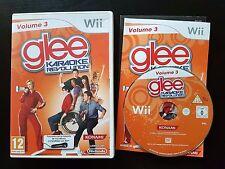 Glee Karaoke Revolution: Volume 3 - Wii / Wii U - Free, Fast P&P! - PAL, Spanish