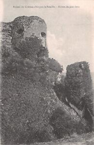 R227478 Ruines du Chateau dArques la Bataille. Ruines du pont levis. Benjamin