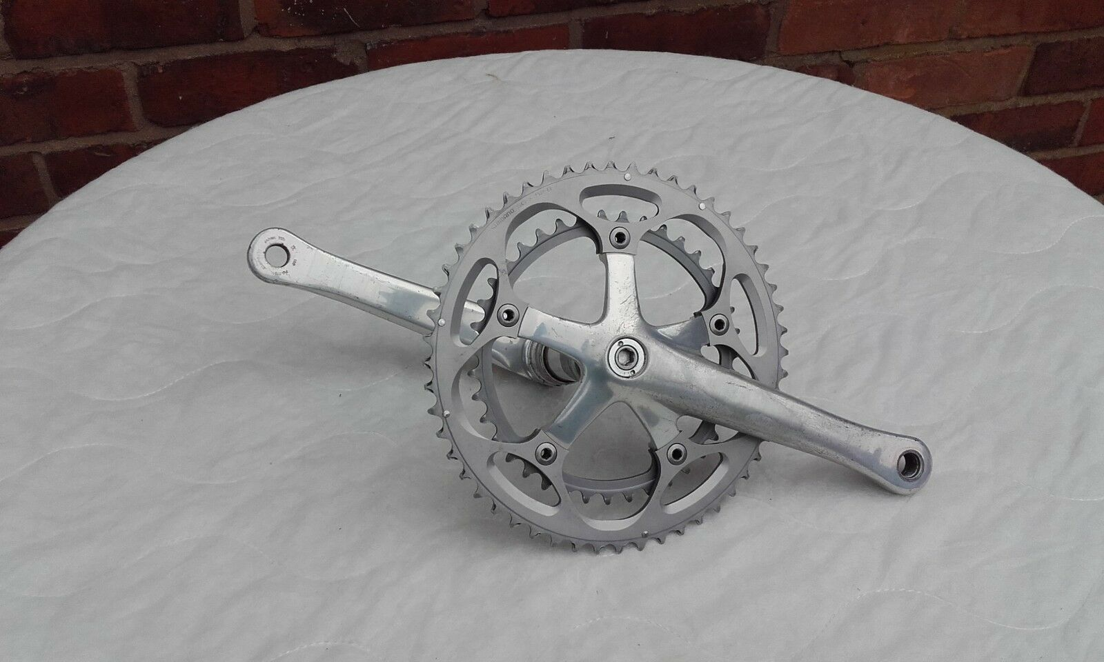 Shimano Dura Ace 180mm chainset  FC-7701   7 8 9 10 speed