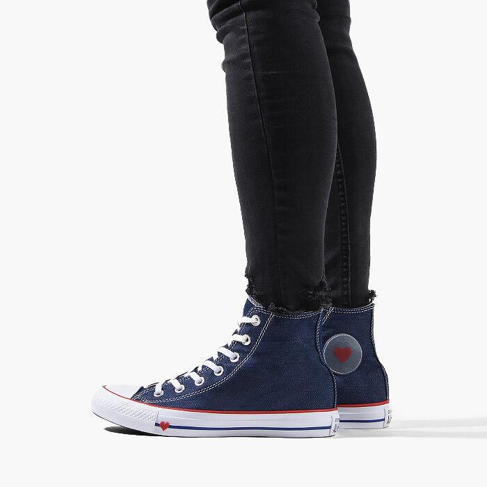 SCARPE DONNA UOMO UNISEX scarpe da ginnastica CONVERSE CONVERSE CONVERSE CHUCK TAYLOR DENIM LOVE [163303C] | Sconto  | Uomini/Donna Scarpa  c00006