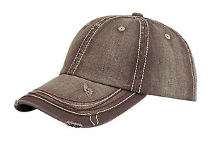 Low-Profile-Heavy-Wash-Herringbone-Distressed-Cap-Brown