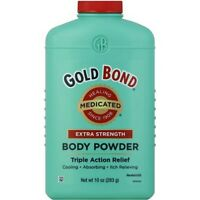 Gold Bond Extra Strength Body Powder 10 Oz Medicated Healing