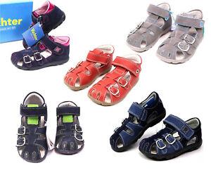 Richter-Kinder-Sandalen-Groesse-20-26-Sandaletten-Schuhe-WMS-Mittel-Leder