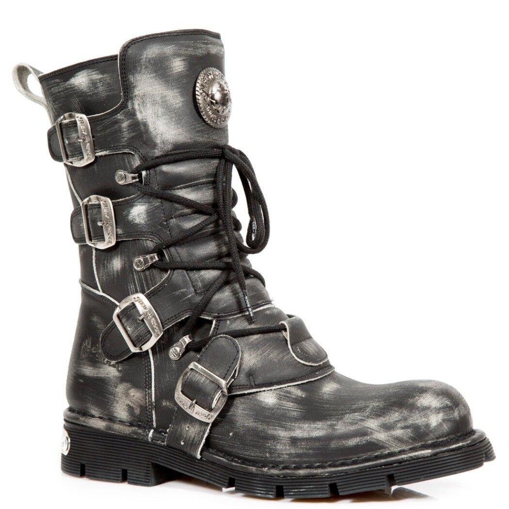 NEWROCK NR M.1473 S47 grey Stiefel - New Rock Boots - Unisex