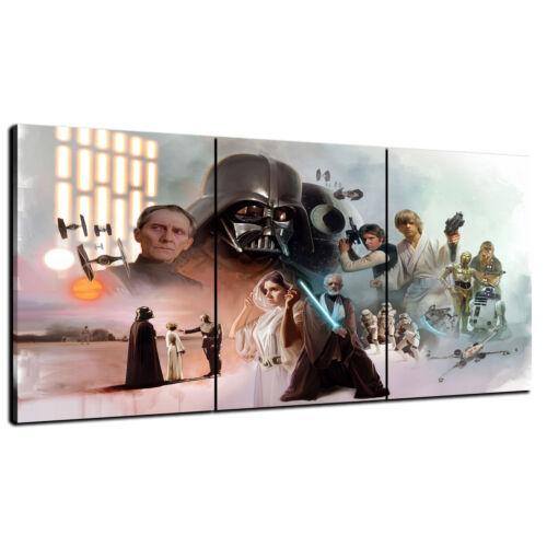 HD Print Oil Painting Home Decor Art on Canvas Star Wars Celebration Unframed